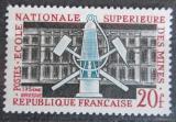 Poštovní známka Francie 1959 VŠ hornická Mi# 1241