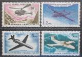 Poštovní známky Francie 1960 Letadla Mi# 1279-82 Kat 18€