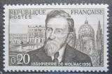 Poštovní známka Francie 1960 Pierre Girauld de Nolhac, historik Mi# 1290