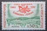Poštovní známka Francie 1960 Postavení evropských obcí Mi# 1292