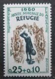 Poštovní známka Francie 1960 Světový rok uprchlíků Mi# 1301