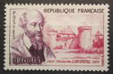 Poštovní známka Francie 1960 Michel de L´Hospital, státník Mi# 1309