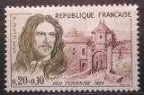 Poštovní známka Francie 1960 Henri Turenne Mi# 1310