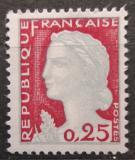 Poštovní známka Francie 1960 Marianne Mi# 1316
