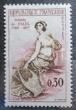 Poštovní známka Francie 1960 Madame de Stael, spisovatelka Mi# 1322