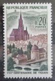 Poštovní známka Francie 1961 Thann, 800. výročí Mi# 1362