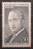 Poštovní známka Francie 1962 Maurice Bourdet, spisovatel Mi# 1382