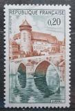 Poštovní známka Francie 1962 Zámek Laval Mi# 1383