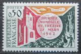 Poštovní známka Francie 1962 Den divadla Mi# 1387