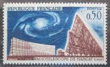 Poštovní známka Francie 1963 Rádioteleskop Mi# 1443
