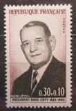 Poštovní známka Francie 1964 Prezident René Coty Mi# 1465