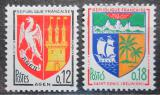 Poštovní známky Francie 1964 Městské znaky Mi# 1472-73
