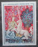 Poštovní známka Francie 1964 Umění, gobelín Mi# 1492