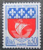 Poštovní známka Francie 1965 Znak Paříže Mi# 1497
