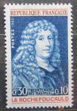 Poštovní známka Francie 1965 Francois de La Rochefoucauld, spisovatel Mi# 1500
