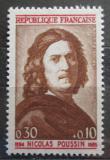 Poštovní známka Francie 1965 Nicolas Poussin, malíř Mi# 1502