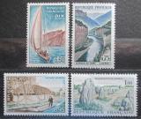 Poštovní známky Francie 1965 Turistické zajímavosti Mi# 1516-19 Kat 8.50€