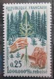 Poštovní známka Francie 1965 Znovuzalesňování Mi# 1524