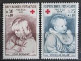 Poštovní známky Francie 1965 Umění, Pierre-Auguste Renoir Mi# 1532-33