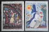 Poštovní známky Francie 1963 Umění Mi# 1452-53