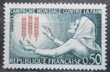 Poštovní známka Francie 1963 Boj proti hladu Mi# 1429