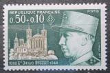 Poštovní známka Francie 1971 Generál Diego Brosset Mi# 1741