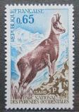 Poštovní známka Francie 1971 Kamzík středozemní Mi# 1747