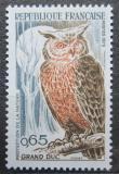 Poštovní známka Francie 1972 Výr velký Mi# 1787