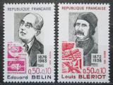 Poštovní známky Francie 1972 Osobnosti Mi# 1799-1800