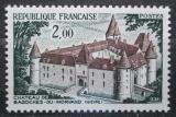 Poštovní známka Francie 1972 Zámek Bazoches-du-Morvan Mi# 1805