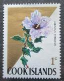 Poštovní známka Cookovy ostrovy 1967 Plumerie červená Mi# 153