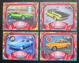 Poštovní známky Burundi 2017 Luxusní automobily Mi# N/N