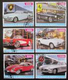 Poštovní známky Džibutsko 2015 Klasické automobily Mi# N/N
