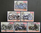 Poštovní známky Džibutsko 2015 Historické motocykly Mi# N/N