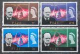 Poštovní známky Fidži 1966 Winston Churchill Mi# 187-90 Kat 7.50€