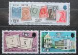 Poštovní známky Fidži 1970 První známky Fidži, 100. výročí Mi# 273-75