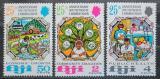 Poštovní známky Fidži 1972 Jihopacifická komise, 25. výročí Mi# 295-97