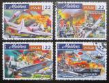Poštovní známky Maledivy 2016 Útok na Pearl Harbor Mi# 6300-03 Kat 10€