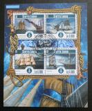 Poštovní známky Sierra Leone 2015 Plachetnice Mi# 6209-12 Kat 11€