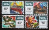 Poštovní známky Togo 2016 Útok na Pearl Harbor, 75. výročí Mi# 7300-03 Kat 15€