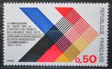 Poštovní známky Francie 1973 Spolupráce s Německem, 10. výročí Mi# 1819