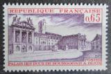 Poštovní známka Francie 1973 Palác Burgundů v Dijonu Mi# 1833