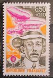 Poštovní známka Francie 1973 Santos Dumont, pilot Mi# 1834