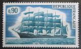 Poštovní známka Francie 1973 Plachetnice Mi# 1839