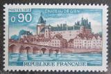 Poštovní známka Francie 1973 Zámek Gien Mi# 1844