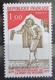 Poštovní známka Francie 1973 Moliere, 300. výročí Mi# 1850