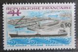 Poštovní známka Francie 1973 Tanker v přístavu Le Havre Mi# 1851