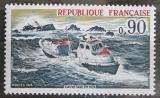 Poštovní známka Francie 1974 Záchranářská loď Mi# 1871