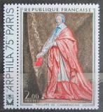 Poštovní známka Francie 1974 Umění, Philippe de Champaigne Mi# 1867