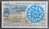 Poštovní známka Francie 1974 Evropská rada, 25. výročí Mi# 1872